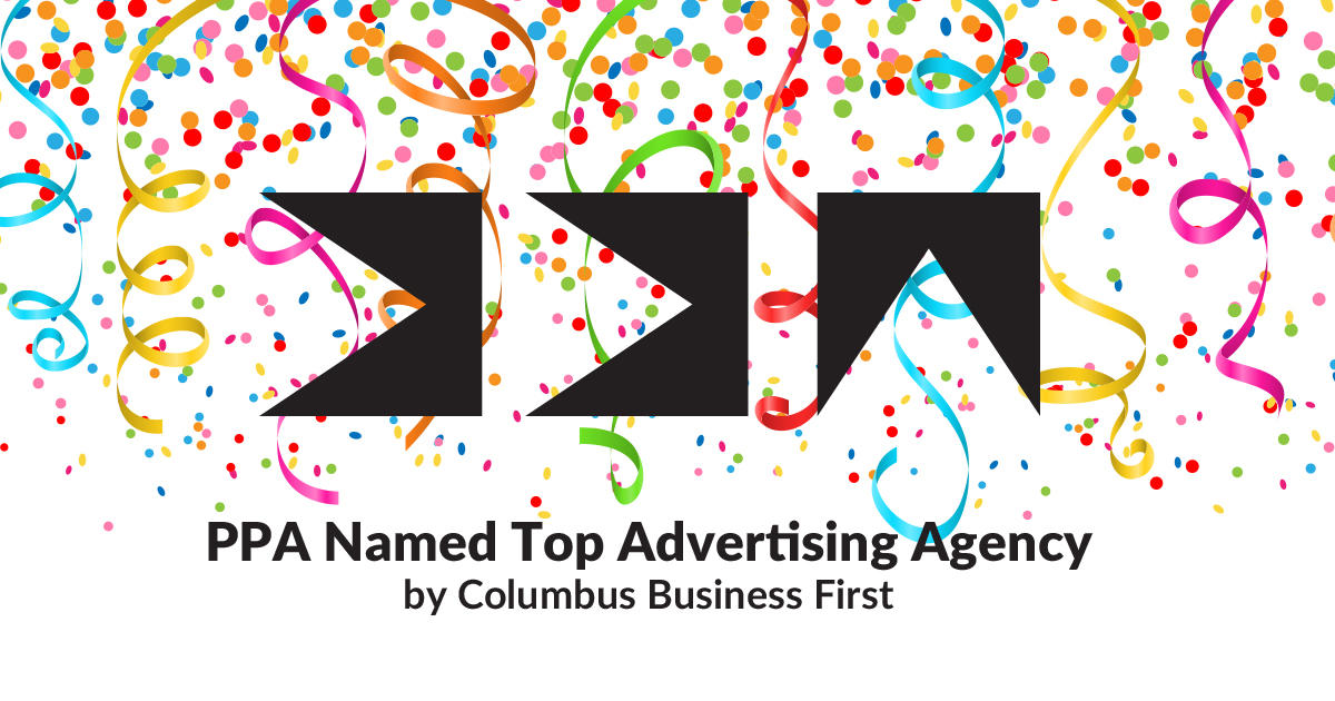 PPA is Among the 2018 Top Ten Advertising Agencies in Columbus