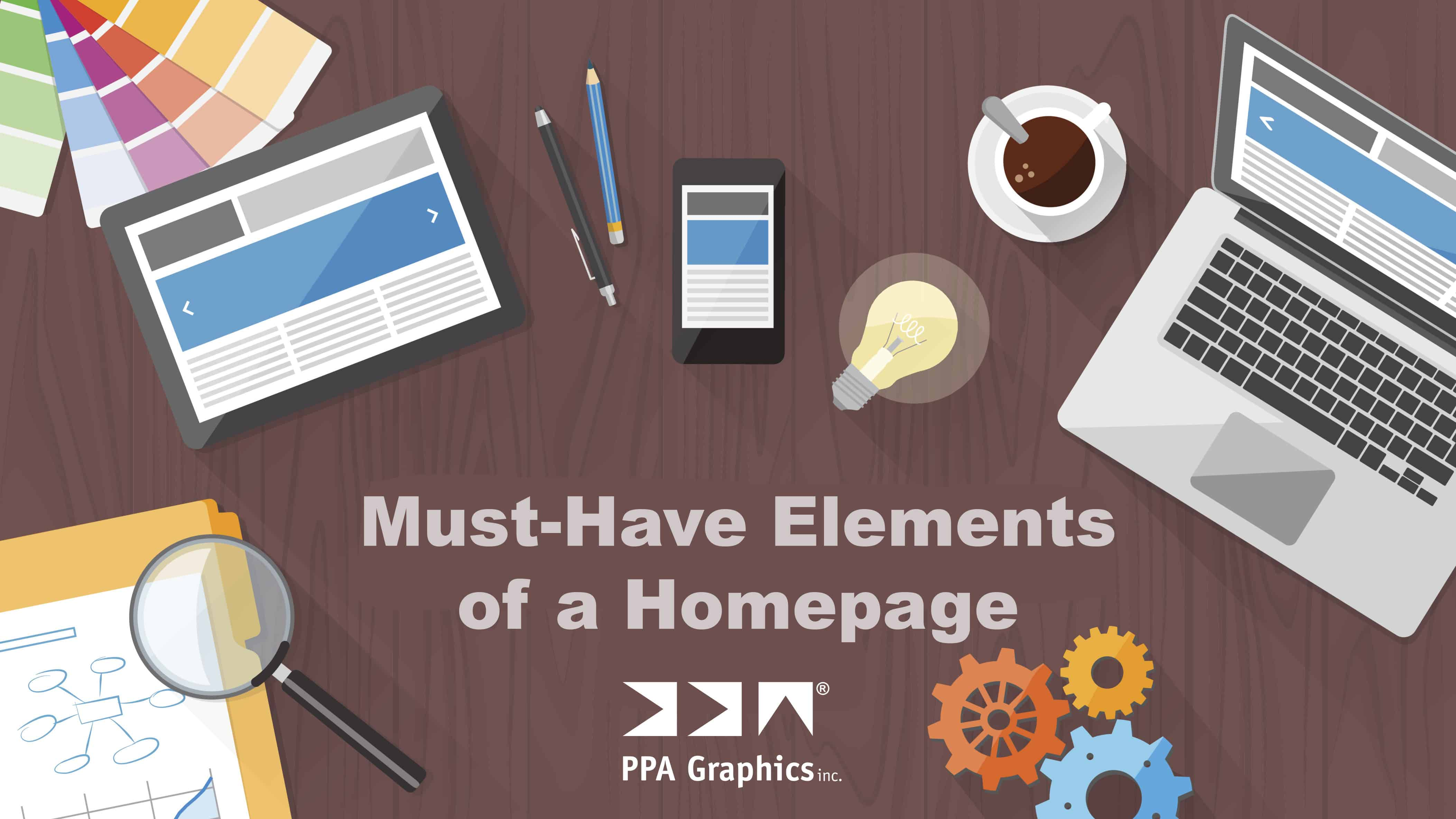 Must-Have Elements of a Homepage
