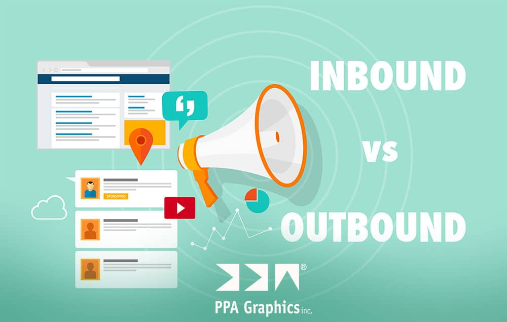 The relationship of inbound and outbound marketing